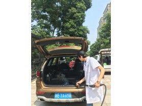 汽车治理荣安蝶园
